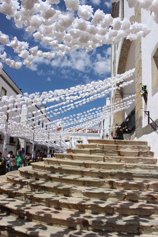 Flower's festival in Alentejo Portugal