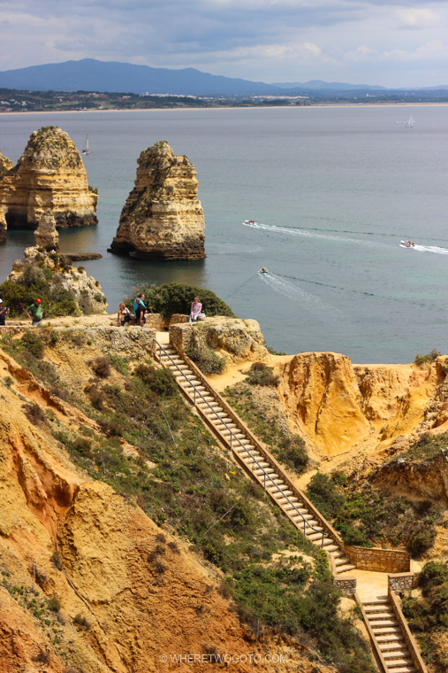 Ponta da Piedade Algarve Where Two Go To