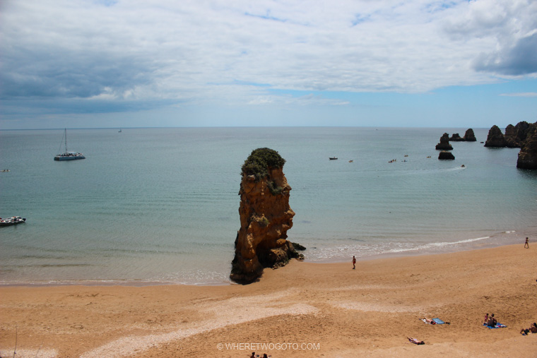 Praia da Dona Ana Algarve Where Two Go To