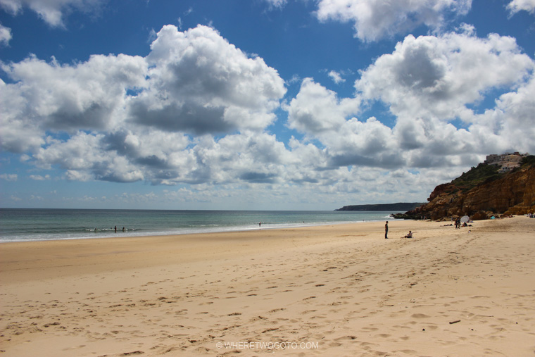 Praia da Salema Algarve Where Two Go To
