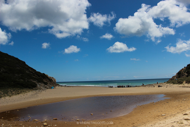 Praia do Zavial in Algarve Where Two Go To