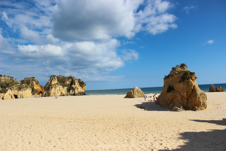 Praia dos Tres Irmaos Algarve Portugal Where Two Go To