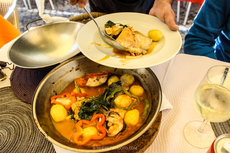 Cataplana Algarve Portugal Where Two Go To