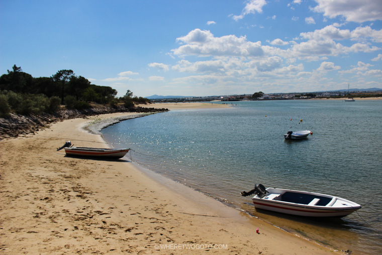 Ilha da Tavira Algarve Portugal Where Two Go To