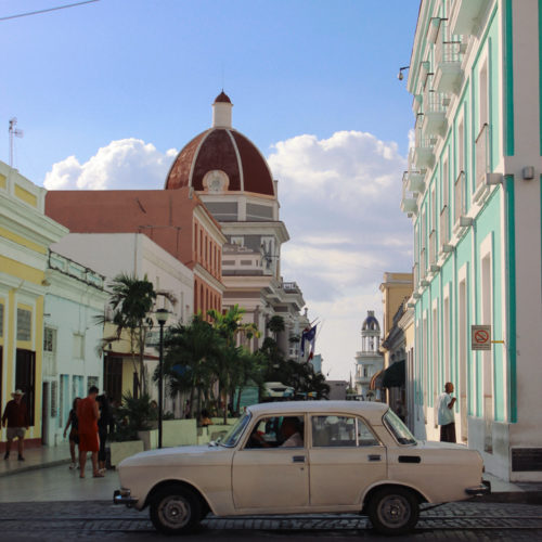 Chasing architecture (and flamingos) in Cienfuegos